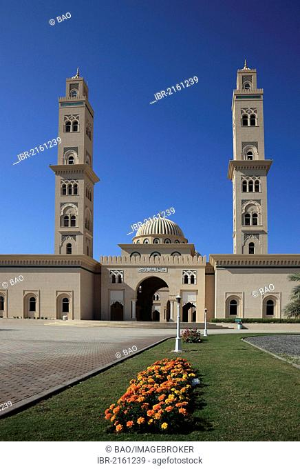 Mosque of Bahla, Oman, Arabian Peninsula, Middle East, Asia