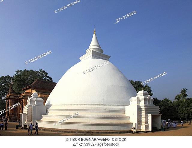 Sri Lanka; Colombo, Kelaniya Raja Maha Vihara, buddhist temple, dagoba,