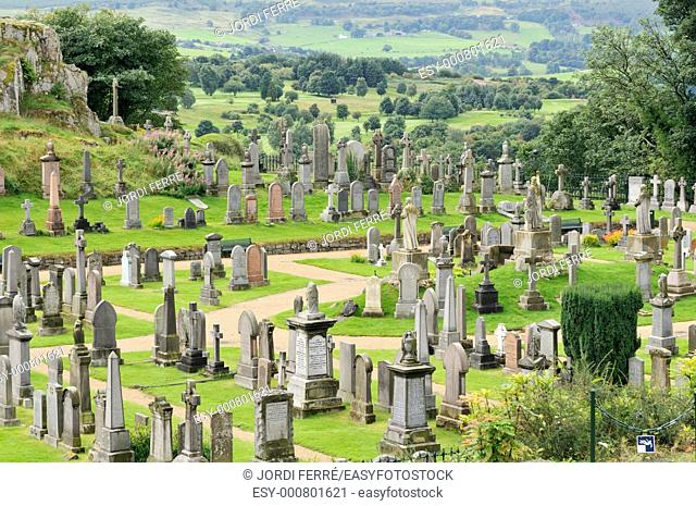 Old Town Cemetery, Stirling, Scotland, United Kingdom, Europe