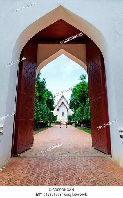 Gate to the King Narai's Palace