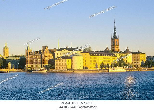 10856440, Sweden, Stockholm, view, old town, Ridda
