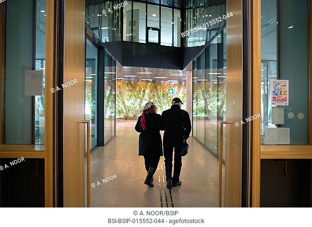 Reportage in the Resources and Research Memory Centre (CMRR), specializing in Alzheimer's disease in the Claude Pompidou Institute, Nice, France