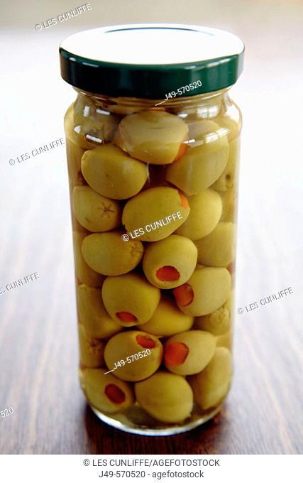 Pimento-stuffed Olives