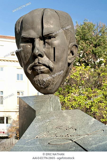 Stefan Stambolov Monument in Crystal Park in Sofia, the capital of Bulgaria