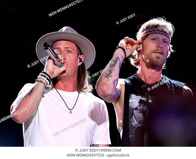 2016 CMA Music Festival - Day 3 - Performances Featuring: Florida Georgia Line Where: Nashville, Tennessee, United States When: 11 Jun 2016 Credit: Judy...