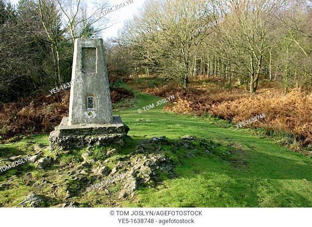 Monument at Haughmond Hill, Shropshire, England, UK