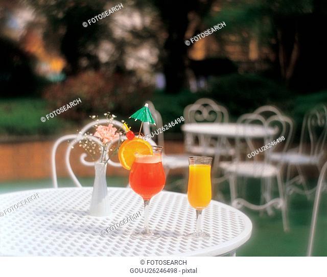 cuisine, cocktail, food, table, orangejuice, film