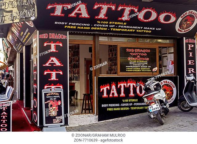 Tattoist Shop Kusadasi Turkey