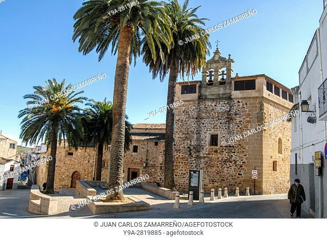Convento de Santa Clara, Caceres, historical downtown, Unesco World Heritage, Patrimonio de la Humanidad, Caceres, Extremadura, Spain