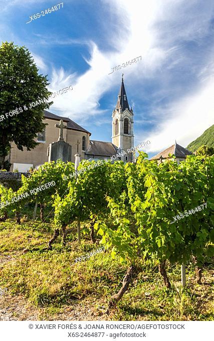 Church of Chignin, Savoie, France