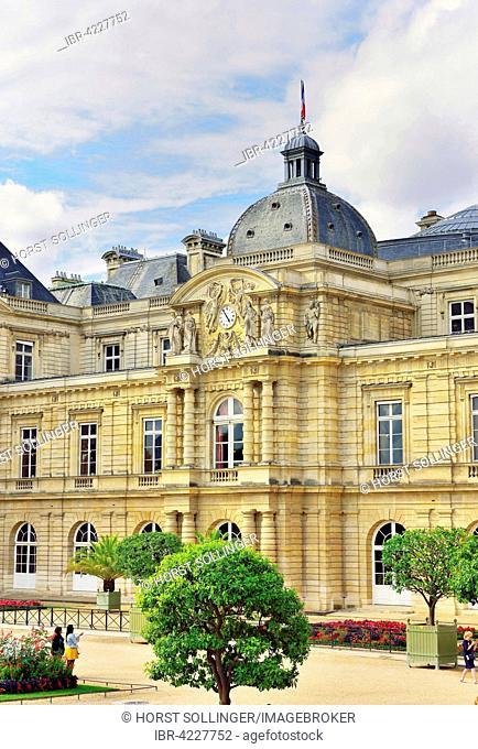 Palais de Luxembourg, Paris, Ile-de-Fance, France