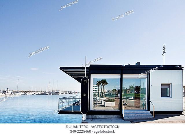 Port of Valencia. Spain