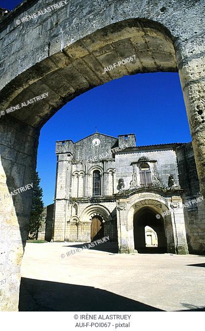 Charente - Grande Champagne - Bassac - Abbaye