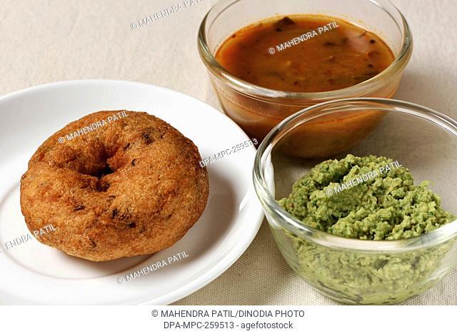 south Indian dish Medu Vadas, India, Asia