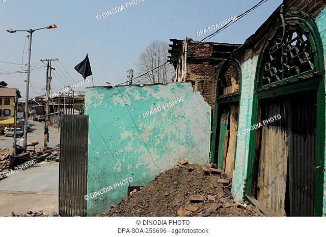Masjid, Srinagar, jammu Kashmir, india, asia