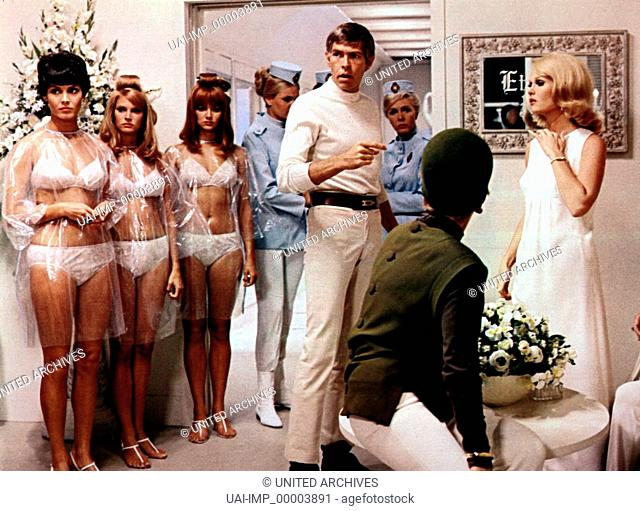 Derek Flint - Hart wie Feuerstein, (IN LIKE FLINT) USA 1966, Regie: Gordon Douglas, JAMES COBURN (mi)
