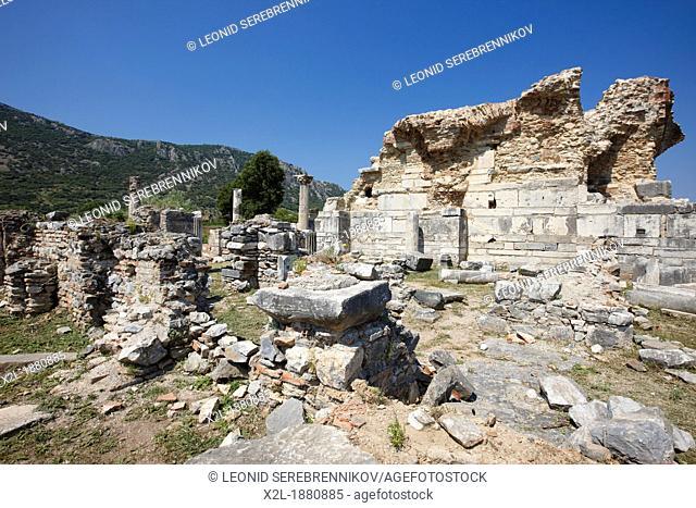 The Church of Mary The Council Church  Ephesus Archaeological Site, Izmir province, Turkey