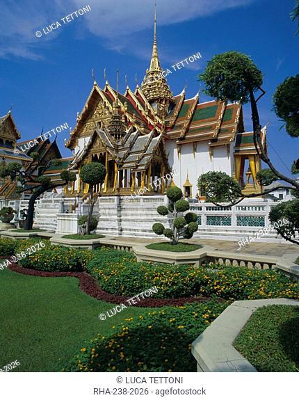 Dusit Maha Prasad, Grand Palace, Bangkok, Thailand, Asia