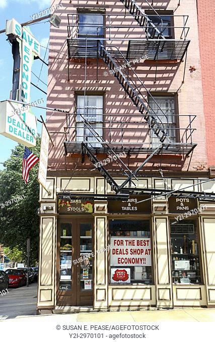 Economy Restaurant and Bar Supply, Old City, Philadelphia, Pennsylvania, United States
