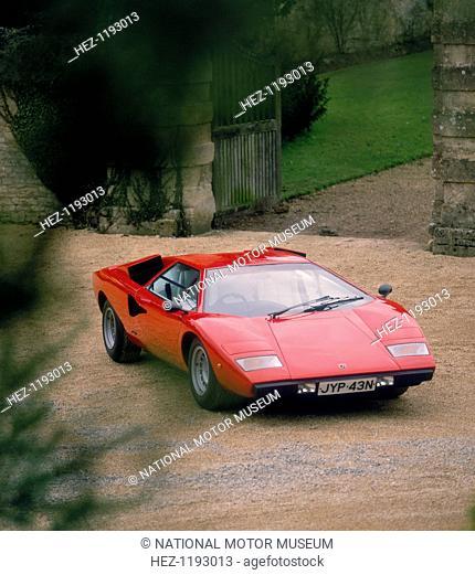 1974 Lamborghini Countach. After a 'bad experience' owning a Ferrari, wealthy Italian industrialist Ferrucio Lamborghini established his own company