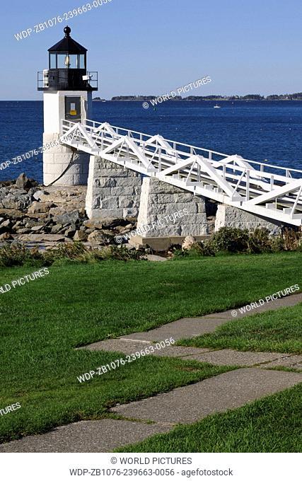 Marshall Point Light; Port Cylde, Maine
