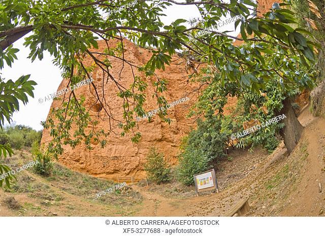 Las Médulas Historic Roman Gold-Mine, UNESCO Worl Heritage Site, Cultural Landscape, El Bierzo Region, León Province, Castilla y León, Spain, Europe