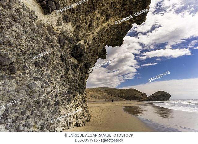 Monsul beach, Cabo de Gata Natural park, Almería, Spain