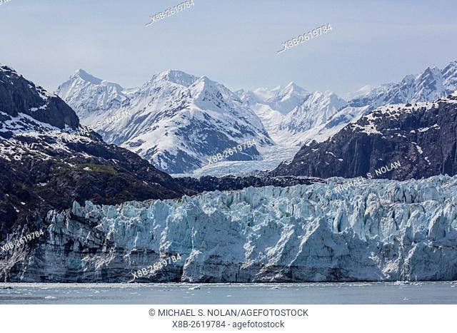 The Lamplugh Glacier in Glacier Bay National Park and Preserve, southeast Alaska, USA