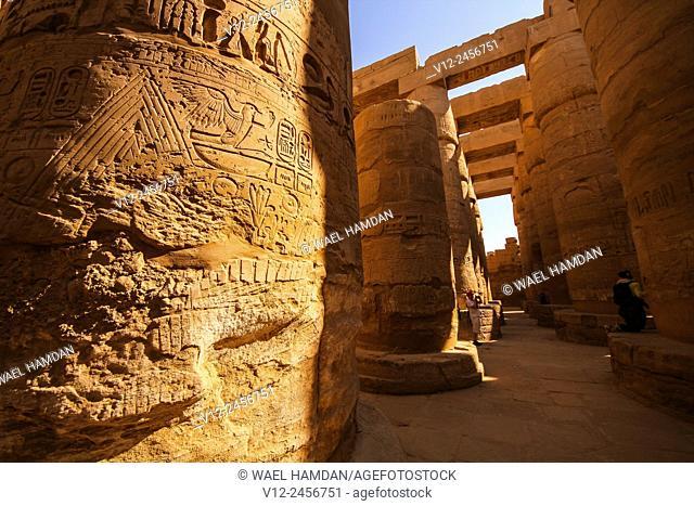 Karnak temple, Luxor city, Egypt