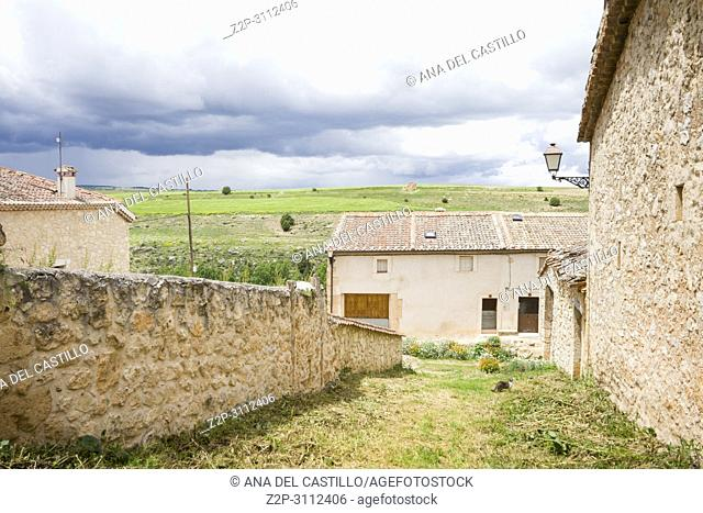 Maderuelo is an ancient village in Segovia province Castile Leon Spain