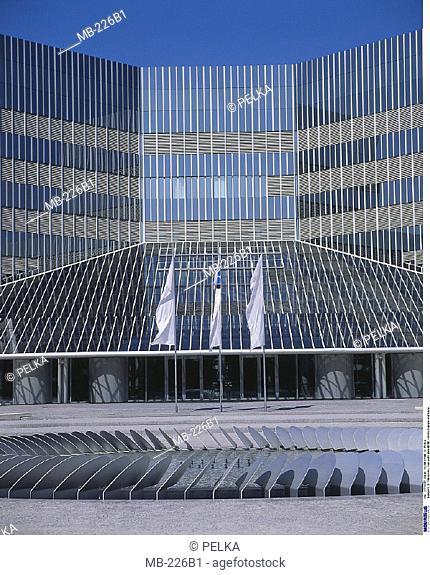 Germany, Europe, Munich, Glass facade