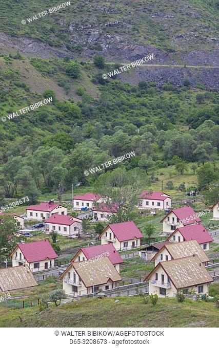 Nagorno Karabakh Republic, Aghavno, village along Armenian border rebuilt after fighting in the Nagorno Karabakh War