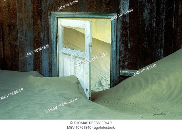 Namibia - Kolmanskop the abandoned ghost town of the diamond days