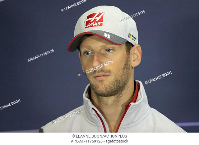 2016 Formula 1 British Gran Prix Drivers Press Conference Jul 7th. 07.07.2016. Silverstone Circuit, Towester, Northants, UK