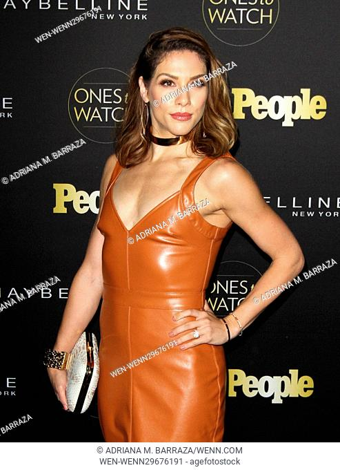 People's One's To Watch Event Celebrating Hollywood's Rising & Brightest Starts held at E.P. & L.P. in Los Angeles Featuring: Allison Holker Where: Los Angeles