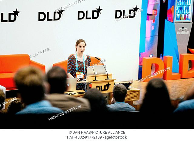 """BAYREUTH/GERMANY - JUNE 21: Princess Auguste of Bavaria / von Bayern speaks about her museum project """"""""Biotopia"""""""" during the DLD Campus event at the University..."""