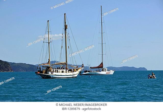 Sailboat, catamaran, Whitsunday Islands National Park, Queensland, Australia