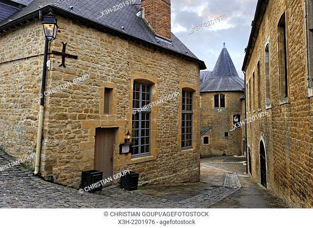 Chateau de Sedan, Ardennes department, Champagne-Ardenne region of northeasthern France, Europe