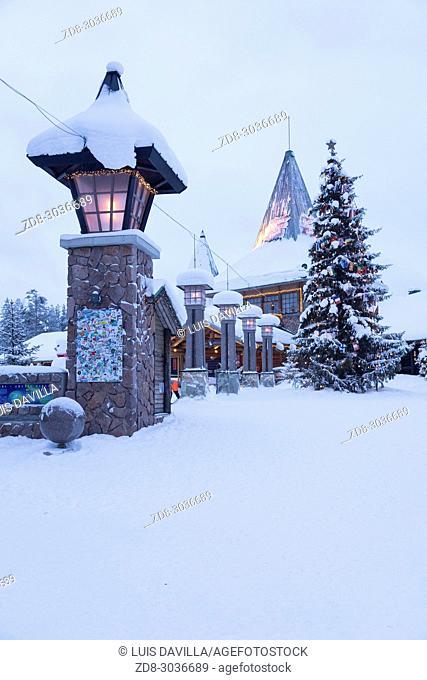 Santa Claus Village. Rovaniemi. Finland