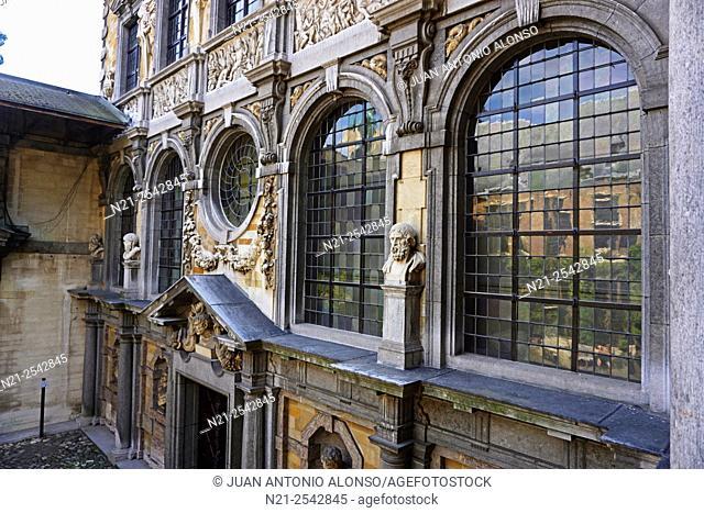 Rubenshuis -Rubens house -, Antwerp, Belgium, Europe