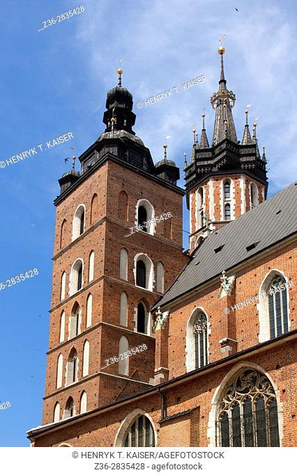 St Mary s basilica, Krakow, Poland