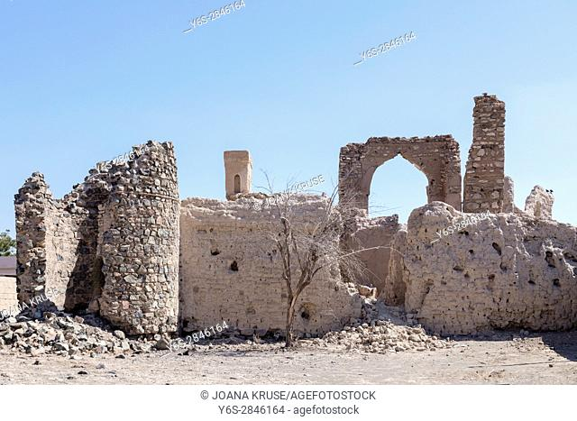 abandoned village in Ibra, Oman, Middle East, Asia