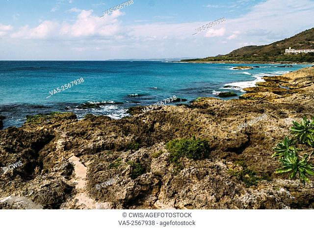 Kenting, Taiwan - Beautiful seascape in Kenting country, the south point of Taiwan Island