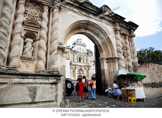 Convent and Church of San Francisco in Antigua Guatemala