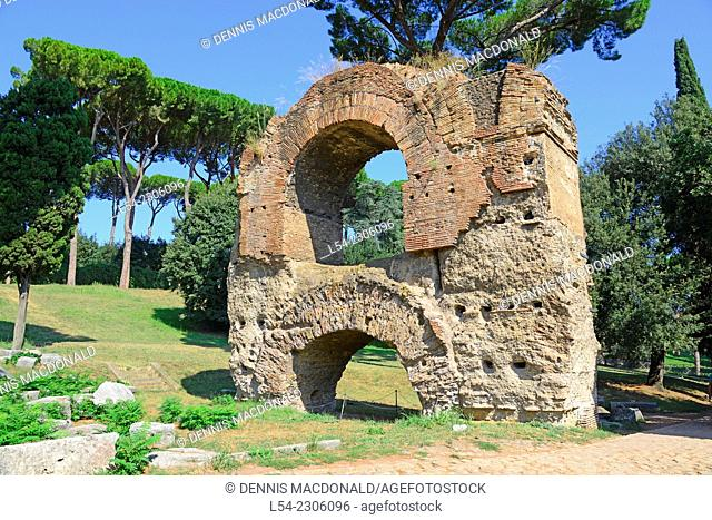 Palatine Hill Aqua Claudia Rome Italy IT EU Europe