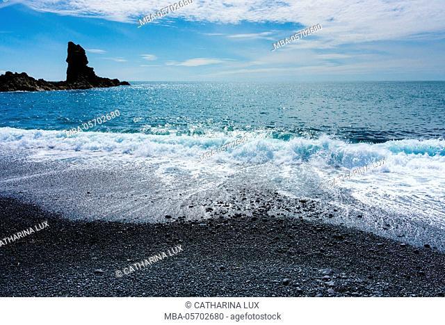 Iceland, Dritvik, beach