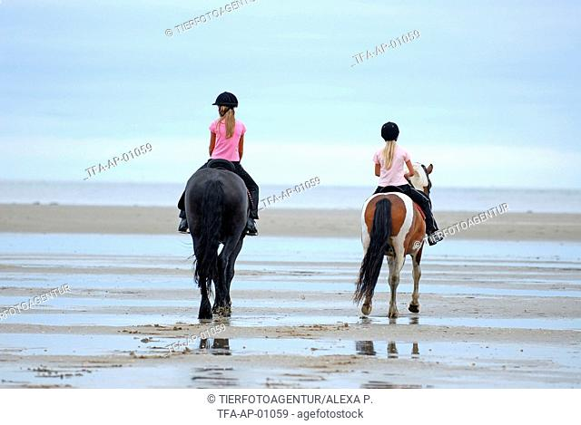 riding girls