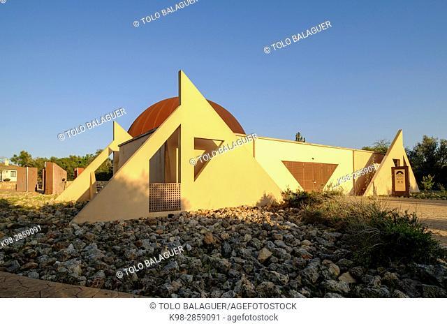 Astronomical Observatory, Costix, Mallorca, Balearic Islands, Spain