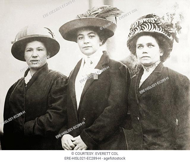 Portuguese mill girls who worked in the Lowell Massachusetts mills. Ca. 1910-15