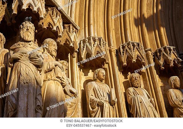 Tarragona Cathedral basilica in Catalonia of Spain